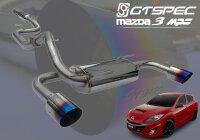 GTSPEC CAT-BACK System Mazda 2.3 MPS Turbo BL 2010-14 260PS