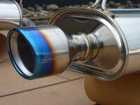 Invidia Q300 Honda S2000 AP1 Titan/blau Endrohre