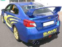 Invidia Q300 Subaru WRX STI GV VA Limousine Bj.11-18 Titan/blau Endr.