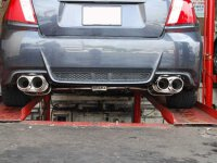 Invidia Q300 Subaru WRX STI GV VA Limousine Bj.11-18 Edelstahl  Endr.