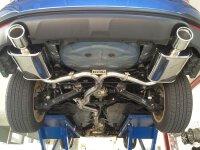 Invidia Q300 Subaru Forester Typ SH Bj.08-13 SJ 2012- Edelstahl Endr.