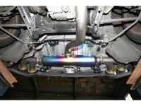 Invidia Titanium Cat-back System Nissan R35 GT-R 09/-