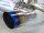 Invidia Gemini Nissan 350Z Titan/blau glatt Endrohre