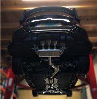 Invidia Q300 Honda Civic Type R FK8 320PS 2017- Titan/Blau Endrohre