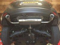 GTSPEC AXLE-BACK System Mazda CX-5 KE/GH/KF ab 2012 2WD+4WD 2.0L, 2.2L, 2.5L
