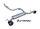 GTSPEC CAT-BACK System Suzuki Swift 1.4L Sport Typ AZ Bj.17- 140PS/129PS