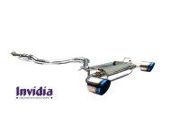 Invidia Q300 Hyundai I30N Hatchback ohne OPF Titan/blau Endr.